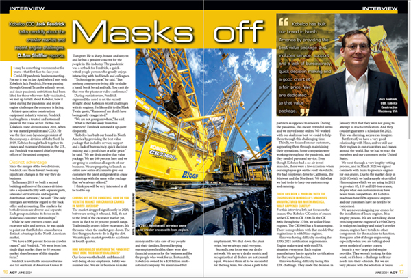 ACT Article - Interview Jack Fendrick
